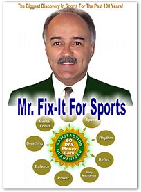 Mr Fix-It Sports Tips